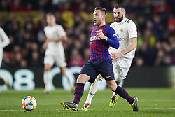 February 6, 2019 - Barcelona, Catalonia, Spain - February 6, 2019 - Camp Nou, Barcelona, Spain - Copa del Rey - FC Barcelona v Real Madrid CF; Arthur Melo of FC Barcelona runs with the ball. (Credit Image: © Marc Dominguez/ZUMA Wire)