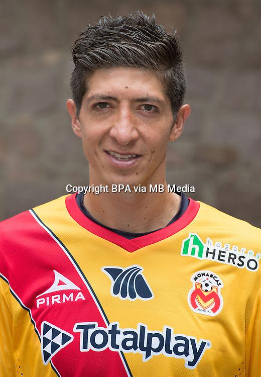 Mexico League - BBVA Bancomer MX 2015-2016 - <br /> La Monarquia - Club Atletico Monarcas Morelia / Mexico - <br /> Marco Antonio Palacios