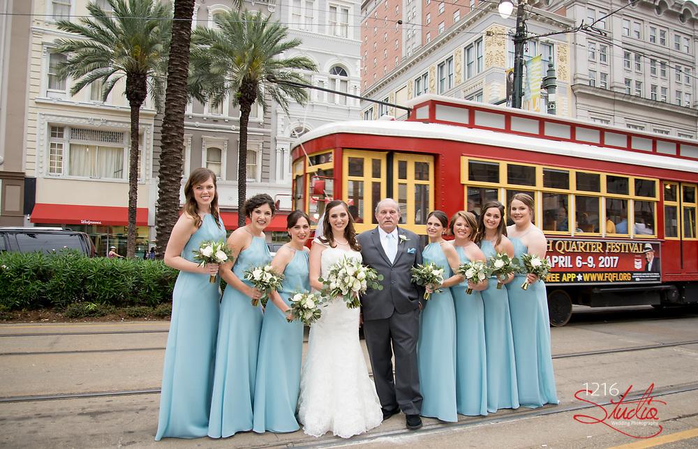 Chris & Morgan Wedding Photography Samples | St. Theresa of Avila and The Federal Ballroom | 1216 Studio Wedding Photography