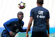 France's midfielder Moussa Sissoko takes part in a training of the team of France before the Friendly Game between France and England on June 12, 2017 at Stade de France in Saint-Denis, France - Photo Benjamin Cremel / ProSportsImages / DPPI