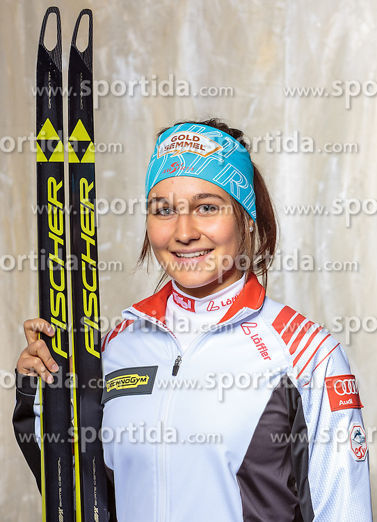 08.10.2016, Olympia Eisstadion, Innsbruck, AUT, OeSV Einkleidung Winterkollektion, Portraits 2016, im Bild Dunja Zdouc, Biathlon, Damen // during the Outfitting of the Ski Austria Winter Collection and official Portrait Photoshooting at the Olympia Eisstadion in Innsbruck, Austria on 2016/10/08. EXPA Pictures © 2016, PhotoCredit: EXPA/ JFK