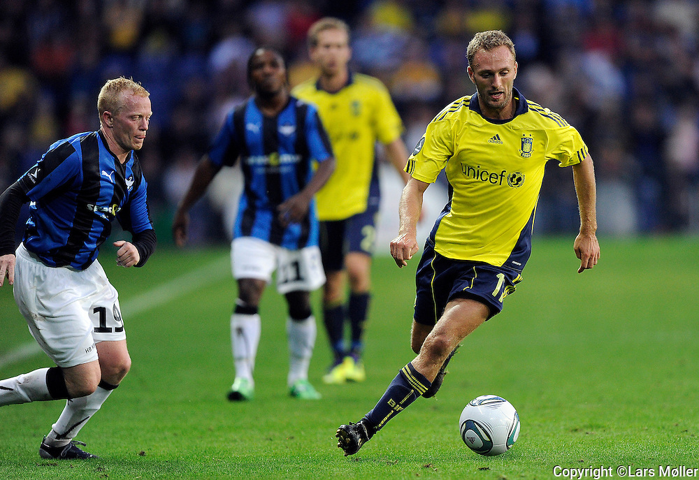DK Caption:<br /> 20110911, Br&oslash;ndby, Danmark:<br /> Superliga fodbold, Br&oslash;ndby - HB K&oslash;ge:<br /> Dennis Rommedahl, BIF Br&oslash;ndby.<br /> Foto: Lars M&oslash;ller<br /> <br /> UK Caption:<br /> 20110911, Brondby, Denmark:<br /> Superleague football  Brondby - HB K&oslash;ge:<br /> Dennis Rommedahl, BIF Br&oslash;ndby.<br /> Photo: Lars Moeller