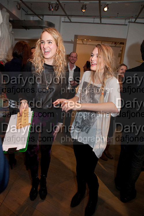 BEX CROFTON-ATKINS; ANNA CHITTENDEN; The Volunteer, A fundraiser for a school project in Uganda. The Henry Von Straubenzee Memorial Fund, <br /> Few And Far, 242 Brompton Road, London SW3, 11 February 2010.