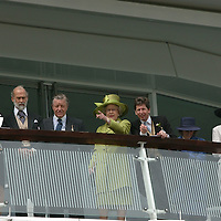 The Royals at the 2002 Derby