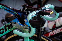 Bike with an eagle of Primoz Roglic of Slovenia during the Men's Elite Road Race a 258.5km race from Kufstein to Innsbruck 582m at the 91st UCI Road World Championships 2018 / RR / RWC / on September 30, 2018 in Innsbruck, Austria. Photo by Vid Ponikvar / Sportida