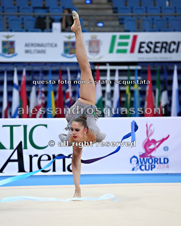 Margarita Mamun was born 1 November 1995 in Moscow, Russia, she is a retired Russian individual rhythmic gymnast.<br />