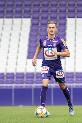 16.07.2019, Generali Arena, Wien, AUT, 1. FBL, FK Austria Wien, Fototermin, im Bild Christoph Monschein // Christoph Monschein during the official team and portrait photoshooting of tipico Bundesliga Club FK Austria Wien for the upcoming Season at the Generali Arena in Vienna, Austria on 2019/07/16. EXPA Pictures © 2019, PhotoCredit: EXPA/ Florian Schroetter