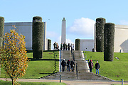 A View of The Armed Forces Memorial at the National Memorial Arboretum, Croxall Road, Alrewas, Burton-On-Trent,  Staffordshire, on 29 October 2018. Picture by Mick Haynes.