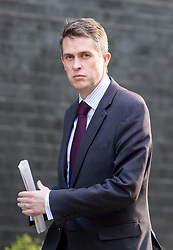 © Licensed to London News Pictures. 20/04/2017. London, UK. Chief Whip (Parliamentary Secretary to the Treasury) Gavin Williamson arrives in Downing Street. Photo credit : Tom Nicholson/LNP