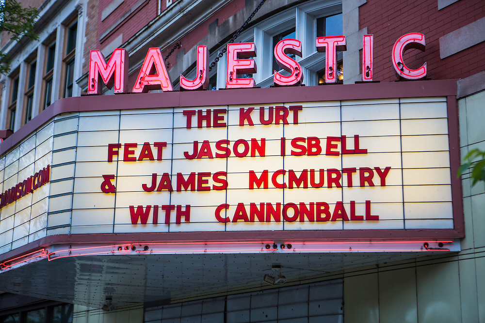 The Kurt Music Event Benefit Concert featuring Jason Isbell and James McMurtry with Cannonball. The Majestic Theater, Madison Wi. June 13, 2014