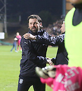 Dundee manager Paul Hartley at full time - Dundee v Dundee United - SPFL Premiership at Dens Park<br /> <br />  - &copy; David Young - www.davidyoungphoto.co.uk - email: davidyoungphoto@gmail.com