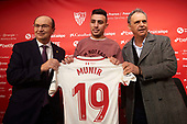Sevilla FC Unveil New Signing Munir