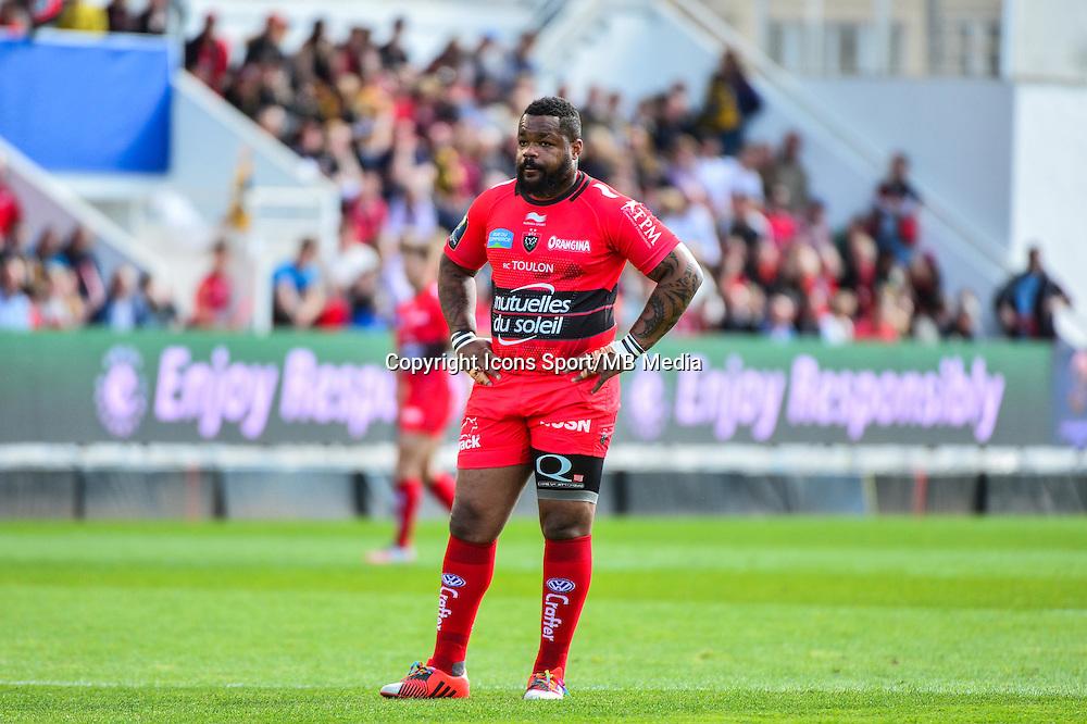 Mathieu BASTAREAUD - 05.04.2015 - Toulon / Londres Wasps - 1/4Finale European Champions Cup<br />Photo : Dave Winter / Icon Sport