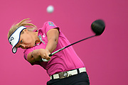 Brooke Henderson (Can) competes during the final round of LPGA Evian Championship 2018, Day 7, at Evian Resort Golf Club, in Evian-Les-Bains, France, on September 16, 2018, Photo Philippe Millereau / KMSP / ProSportsImages / DPPI