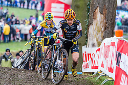 Crystal Anthony (USA), Women, Cyclo-cross World Cup Hoogerheide, The Netherlands, 25 January 2015, Photo by Thomas van Bracht / PelotonPhotos.com