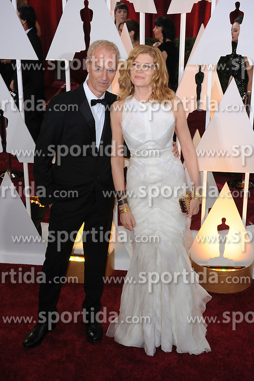 22.02.2015, Dolby Theatre, Hollywood, USA, Oscar 2015, 87. Verleihung der Academy of Motion Picture Arts and Sciences, im Bild Rene Russo // attends 87th Annual Academy Awards at the Dolby Theatre in Hollywood, United States on 2015/02/22. EXPA Pictures &copy; 2015, PhotoCredit: EXPA/ Newspix/ PGMP<br /> <br /> *****ATTENTION - for AUT, SLO, CRO, SRB, BIH, MAZ, TUR, SUI, SWE only*****