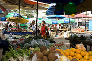 Fruit for sale in the market in Castries, St Lucia, The Windwards Islands,<br /> The Caribbean
