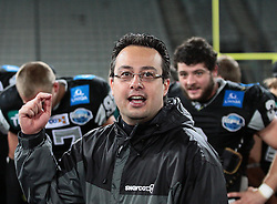 28.05.2011, Tivoli Stadion, Innsbruck, AUT, EFL Halbfinale, Swarco Raiders Tirol vs Raiffeisen Vikings, im Bild Shuan Fatah, (Swarco Raiders Tirol, Headcoach) ,  EXPA Pictures © 2011, PhotoCredit: EXPA/ T. Haumer