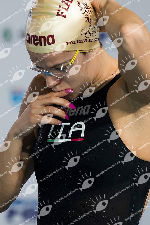 Martina Rita Caramignoli Italy ITA<br /> Fiamme Oro/Aurelia Nuoto<br /> 400 Stile Libero Femmine<br /> Riccione 19-12-2014 Stadio del Nuoto, Campionati Italiani Assoluti Invernali 2014 Nuoto Day02 Mattina<br /> Photo Andrea Masini/Deepbluemedia/Insidefoto