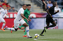May 28, 2018 - Chester, PA, USA - Chester, PA - Monday May 28, 2018: Weston McKennie during an international friendly match between the men's national teams of the United States (USA) and Bolivia (BOL) at Talen Energy Stadium. (Credit Image: © John Dorton/ISIPhotos via ZUMA Wire)