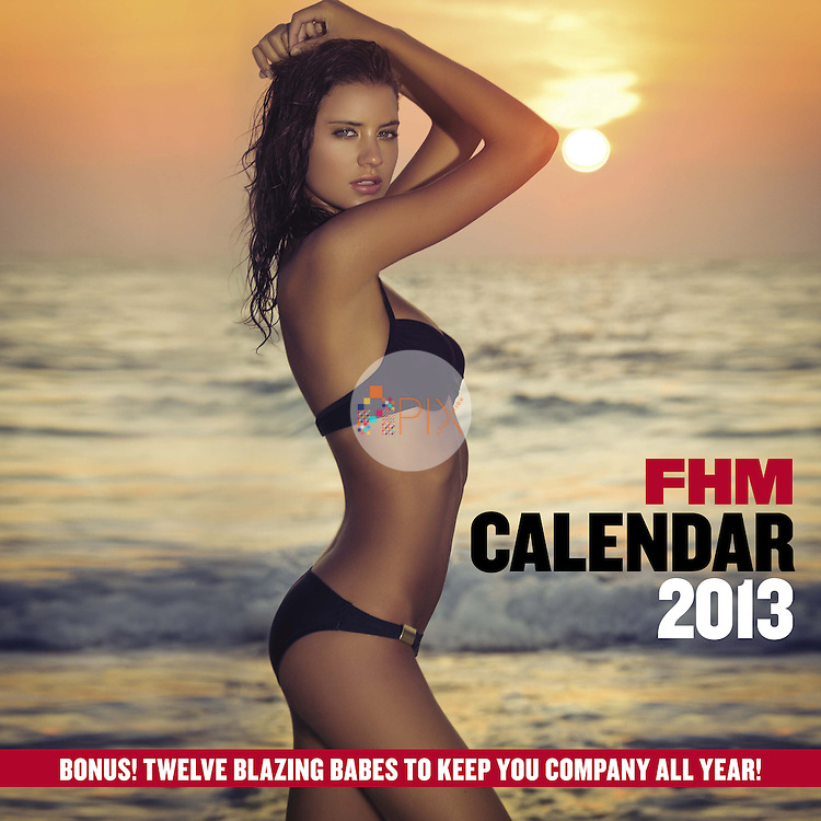 Stunning image of Carleen Laronn features as the front cover of the FHM Calendar this year. <br />