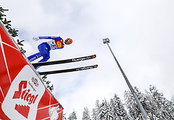 16.12.2017, Nordische Arena, Ramsau, AUT, FIS Weltcup Nordische Kombination, Skisprung, im Bild Bjoern Kircheisen (GER) // Bjoern Kircheisen of Germany during Skijumping Competition of FIS Nordic Combined World Cup, at the Nordic Arena in Ramsau, Austria on 2017/12/16. EXPA Pictures © 2017, PhotoCredit: EXPA/ Martin Huber