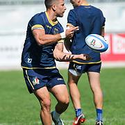 Calvisano 24/05/2018 <br /> Allenamento nazionale italiana di rugby<br /> Tommaso Benvenuti