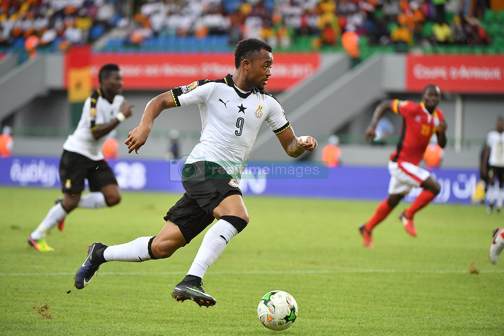 January 17, 2017 - Port Gentil, France - Ghana jordan ayew (Credit Image: © Panoramic via ZUMA Press)