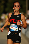 Oct 20, 2006; Walnut, CA, USA; Cara Hoyt of San Lorenzo Valley places eighth in the girls Division III sweepstakes race in 19:09 over the 2.91-mile course in the 59th Mt. San Antonio College Cross Country Invitational.