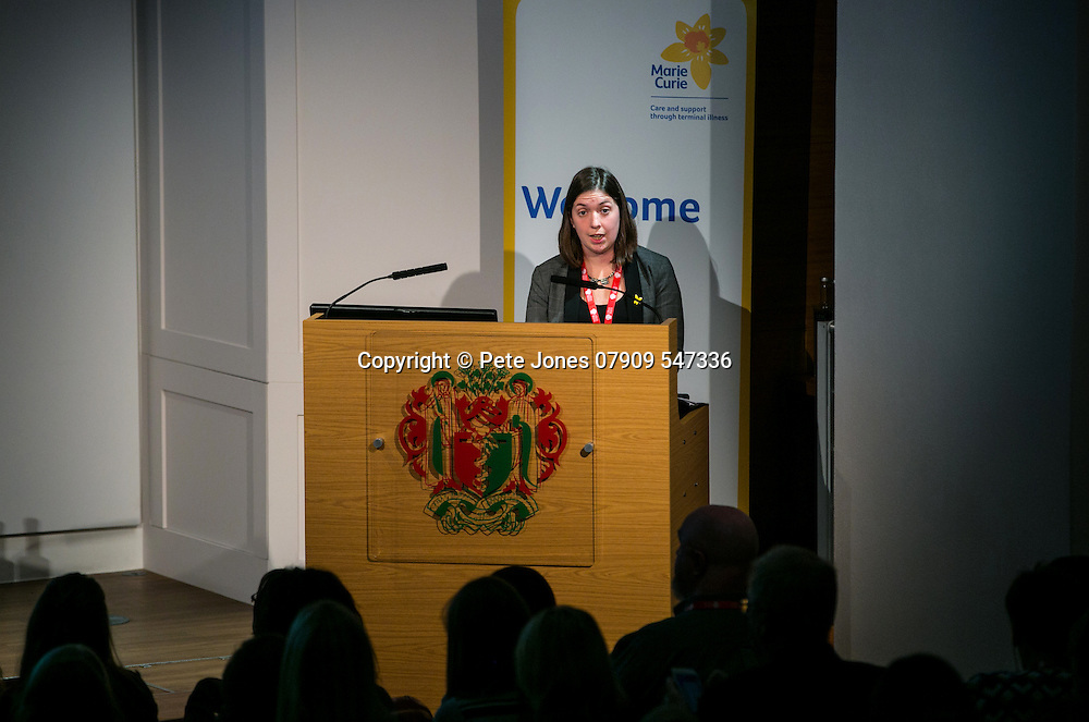 Marie Curie Palliative Care;<br /> Dr Florence Todd Fordham;<br /> Round the Clock Conference 2016;<br /> Royal Soc of Medicine, Wimpole St, London;<br /> 19th October 2016.<br /> <br /> &copy; Pete Jones<br /> pete@pjproductions.co.uk