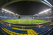General view of the stadium during the EFL Sky Bet Championship match between Millwall and Birmingham City at The Den, London, England on 28 November 2018.