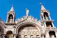 Italy, Venice. St Mark's basilica.