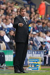 BOLTON, ENGLAND - SATURDAY, SEPTEMBER 30th , 2006: Bolton Wanderers' manager Sam Allardyce during the Premiership match against Liverpool at the Reebok Stadium. (Pic by David Rawcliffe/Propaganda)