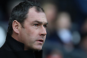 Derby County manager Paul Clement during the Sky Bet Championship match between Derby County and Birmingham City at the iPro Stadium, Derby, England on 16 January 2016. Photo by Aaron Lupton.