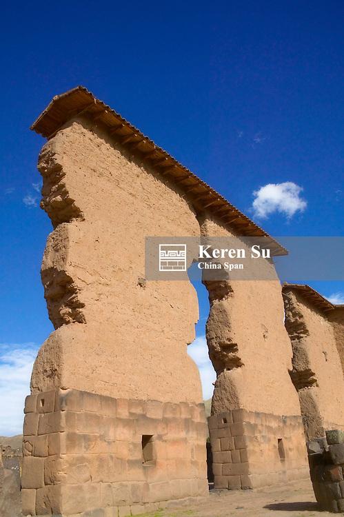 Inca ruins, near Cusco, Peru