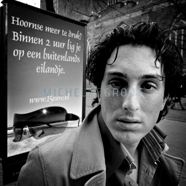 GRONINGEN, Netherlands - 4/19/04: RAFAEL REDZCUS, fotograaf en multimedia specialist.