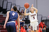 March 2, 2019: The Rogers State University Hillcats play against the Oklahoma Christian University Lady Eagles in the Eagles Nest on the campus of Oklahoma Christian University.