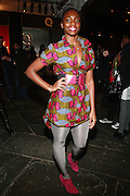 Erica Lasan at the 2010 Mercedes Benz Fall Fashion Week held at Bryant Park on February 12, 2010 in New York City