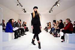 Repro Free: Model Sarah Morrissey pictured during the fashion show at Showcase 2013. Pic Andres Poveda