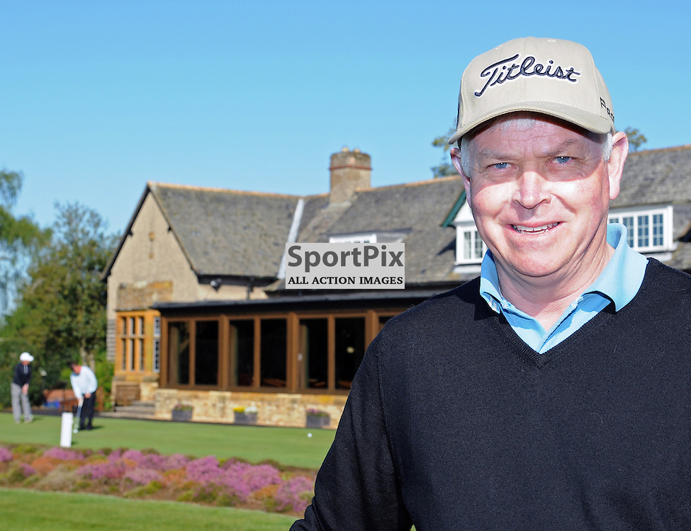 Simon Wood on the 2nd day of play at the Senior PGA Professional Golf Championship at the Northant's County Golf Club on the 16th May 2013..WAYNE NEAL | STOCKPIX.EU