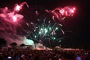 Mannheim. 29.07.17 | ID 053 |<br /> Maimarktgel&auml;nde. Pyrogames. Feuerwerker in vier Teams z&uuml;nden ihre Feuerwerkchoreografien ab und lassen sich vom Publikum bewerten. <br /> <br /> Bild: Markus Pro&szlig;witz 29JUL17 / masterpress