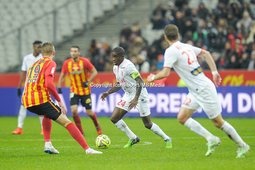 Rio Mavuba - 07.12.2014 - Lens / Lille - 17eme journee de Ligue 1<br />
