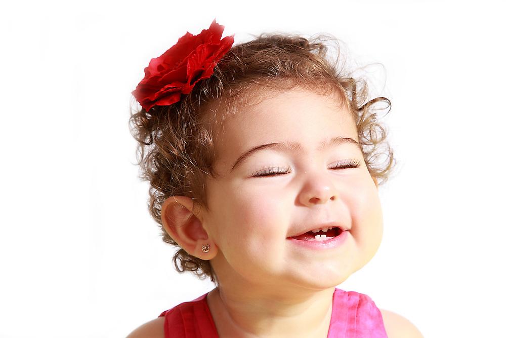 портрет на малко момиче
