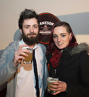 Tommy Walsh and Amy Joyce Ballybane at The Jameson The Black Barrel Craft Series  at Old printing works, Market Street with music by Corner boy.  Photo:Andrew Downes