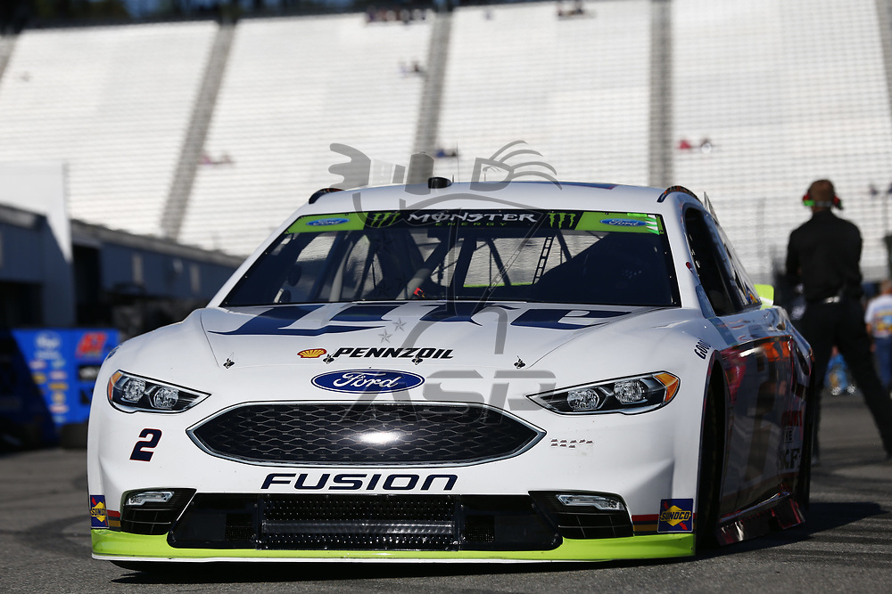 September 23, 2017 - Loudon, New Hampshire, USA: Brad Keselowski (2) takes to the track to practice for the ISM Connect 300 at New Hampshire Motor Speedway in Loudon, New Hampshire.