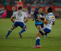 LOFTUS VERSVELD , SOUTH AFRICA - February 14: Deon Stegmann of the Bulls during the Vodacom Super Rugby match between the Bulls and the Stormers played at Loftus Versveld, Pretoria, South Africa. (Photo by Anton Geyser/ Rugby 15)