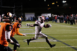 Running back Mike Waters of Imhotep Panthers in action at the December 18, 2015 PIAA 3A State Championship at Hersheypark Stadium. (photo by Bastiaan Slabbers)