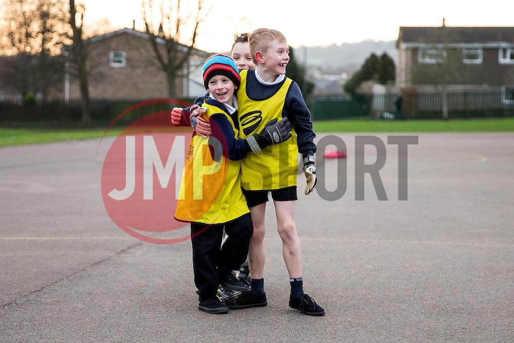 Bristol Sport Foundation School Coaching Sessions - Rogan Thomson/JMP - 09/02/2017 - SPORT - St Barnabas School - Bristol, England.
