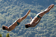 Team BRASIL - MATOS Ian Carlos OUTERELO Luiz Felipe<br /> Bolzano, Italy <br /> 22nd FINA Diving Grand Prix 2016 Trofeo Unipol<br /> Diving<br /> Men's 3m synchronised springboard final<br /> Day 03 17-07-2016<br /> Photo Giorgio Perottino/Deepbluemedia/Insidefoto