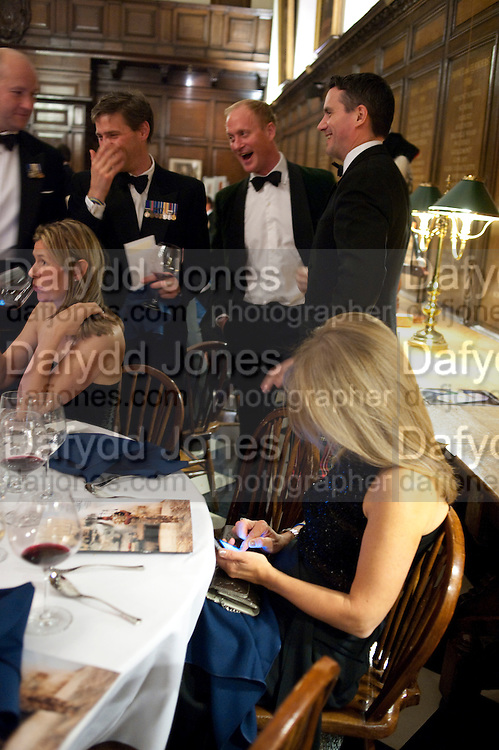MARIA PORTELLI, Charity Dinner in aid of Caring for Courage The Royal Scots Dragoon Guards Afganistan Welfare Appeal. In the presence of the Duke of Kent. The Royal Hospital, Chaelsea. London. 20 October 2011. <br /> <br />  , -DO NOT ARCHIVE-© Copyright Photograph by Dafydd Jones. 248 Clapham Rd. London SW9 0PZ. Tel 0207 820 0771. www.dafjones.com.